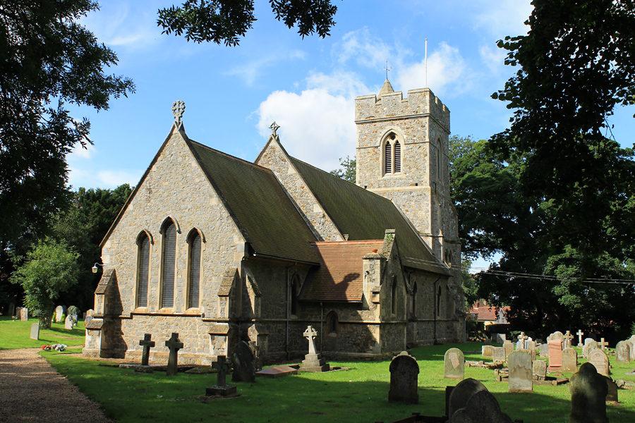 The North Wootton village church