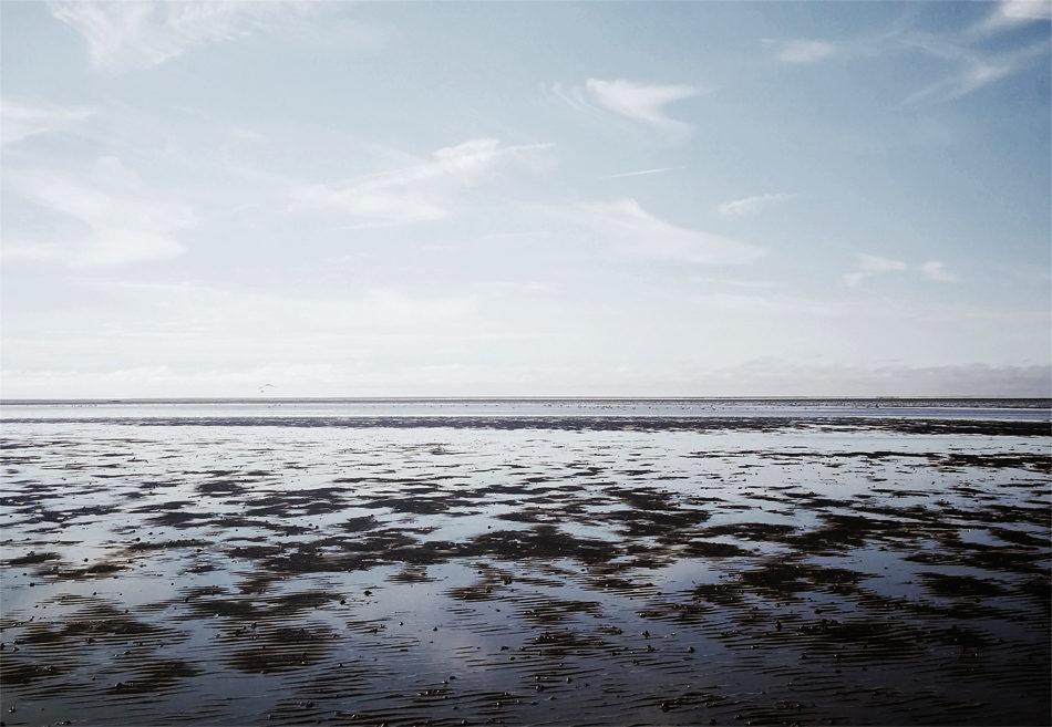 The breathtaking Snettisham beach