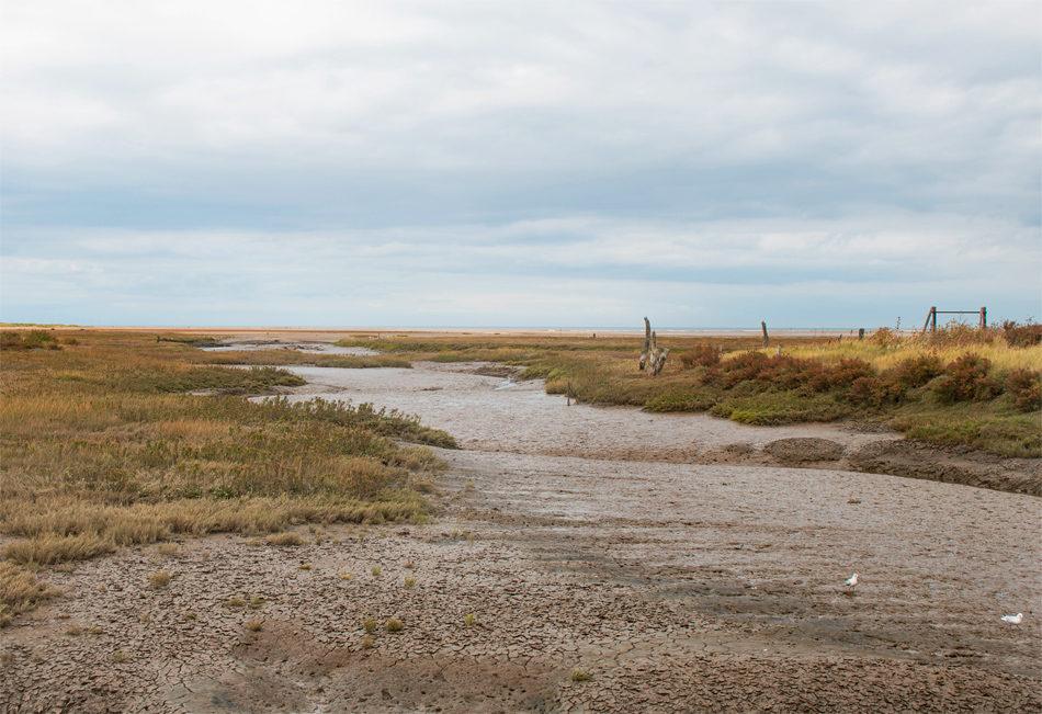 The landscape around Thornham