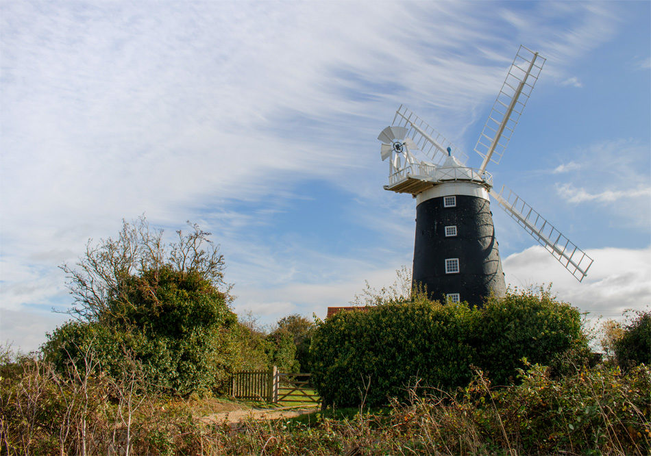 The Burnham Overy Staithe Windmill